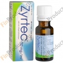 Zyrtec tipat 10 mg/ml, Зиртек 10 мг/мл, капли, 20 мл