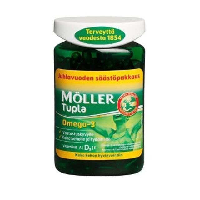 Moller Omega 3 Kalanmaksaoljy Инструкция