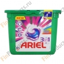 Ariel Pods 3in1 Colour&Style New, Ариель Три-В-Одном Колор энд Стайл, 24 шт.