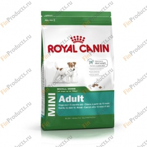 Rоуal Cаnin Mini Adult, сухой корм для собак мелких размеров с 10 месяцев до 8 лет, 8 кг