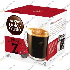 Nescafé Dolce Gusto Zoegas Mollbergs Blandning, Нескафе Дольче Густо Мольбергс Блэнднинг, 16 капсул, 160 г