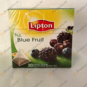 Lipton Tea Blue Fruit, чай в пирамидках, 20 шт.
